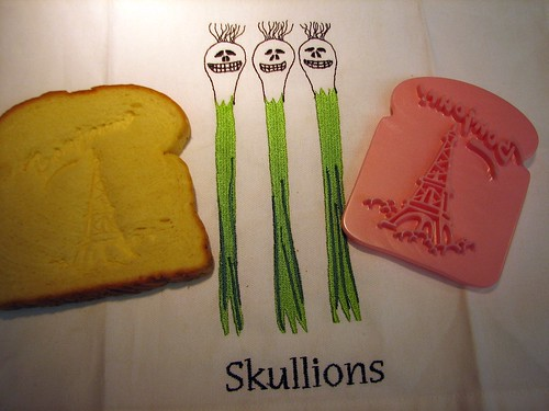 French toast and skullions...mmmm, tasty!