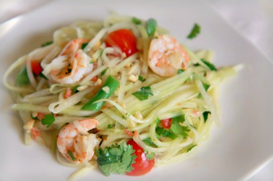 Green Papaya Salad 550