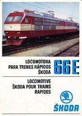 Lokomotiva ŠKODA 66E