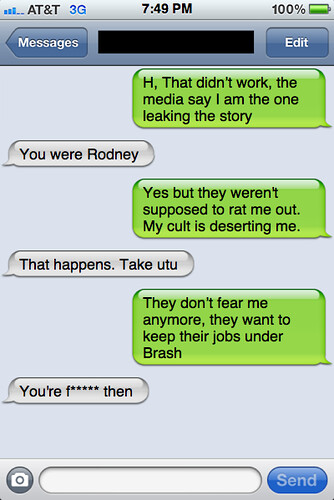 Txt from New York: Rodney and Helen chat