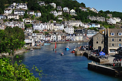 Another busy day on the river Looe - Western Morning View (rosyrosie2009) Tags: uk sea summer england seascape water river landscape boats photography coast cornwall photos tamron hdr gettyimages looe westcountry rnli coastpath westernmorningnews eastlooe devonandcornwall westlooe looebay d5000 rosiesphotos westernmorningview tamronaf70300mmf456dildmacro tamron70300mmlens luggers riverlooe looeluggerregatta rosiespooner redsales rosyrosie2009 rosemaryspooner rosiespoonerphotography