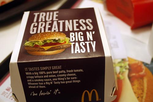 McD's Big N' Tasty
