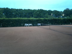 2011.06.18 - Wrocaw - Stadion Olimpijski (Dexte-r) Tags: court nokia polska tennis n8 tenniscourt wrocaw 2011 olimpicstadium stadionolimpijski