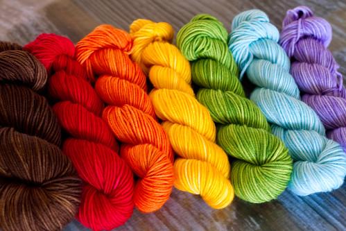 'choco rainbow' set