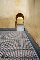 Meknes Morocco tomb shrine (R. O. Flinn) Tags: architecture shrine arch tomb morocco meknes