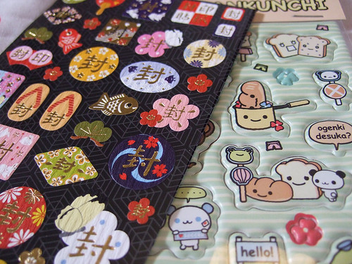 Japanese stickers