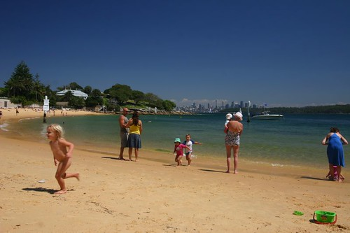 Beautiful Camp Cove, South Head Peninsula, Sydney.