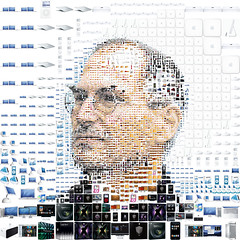 Steve Jobs for Fortune magazine (tsevis) Tags: portrait usa art apple collage illustration digital photoshop computer magazine advertising macintosh creativity idea design graphicdesign mac graphics icons experimental pattern imac ipod graphic jobs mosaic steve experiment harddisk photomosaic communication adobe usb hero ceo leader jigsaw concept conceptual macosx visual techniqu