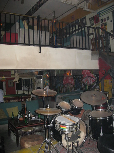 Inside the Hemp House (camera flash