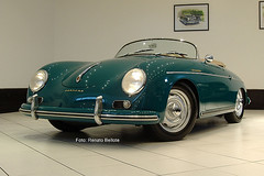 Porsche 356 Speedster (Renato Bellote) Tags: brazil brasil garage wheels  mint porsche 1957 paulo so renato speedster 356 garagem condition rudge bellote garagemdobellote