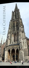 Ulm Cathedral (Patrick Ciebilski) Tags: world church skyscraper germany europe published cathedral ulm münster highest