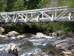 Trek Chaiten - Lagunas - Alerce - Escondidas - pont