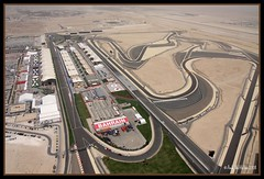 Birds Eye View (Andy Nettleton) Tags: cars race canon one 1 photo bahrain tv track bell flight 206 sigma cockpit f1 aerial racing helicopter formula instruments communications wescam 70mm 17mm 2000ft 40d