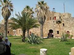 Castle of Arwad island