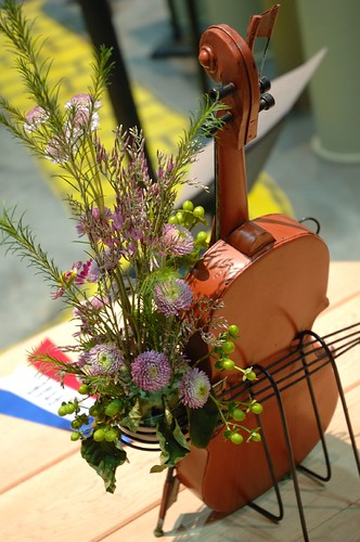 Flowered Violin