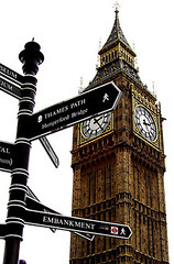 In Direzione Ostinata E Contraria (SimplementAlexie) Tags: uk england london bigben direction worldwonder worldicon
