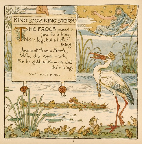 The Baby's Own Aesop Being the Fables Condensed in Rhyme-Walter Crane 1887