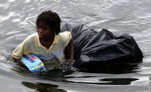 Katrina veroorzaakte een enorme ramp in New Orleans