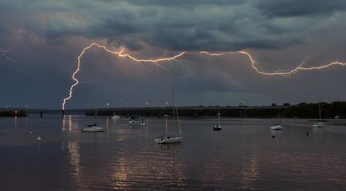 Boats + Lightning