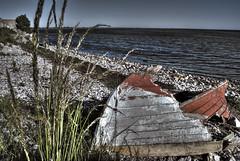 Broken Boat (robbie-rob) Tags: old sea broken boat sweden damage malm hdr klagshamn