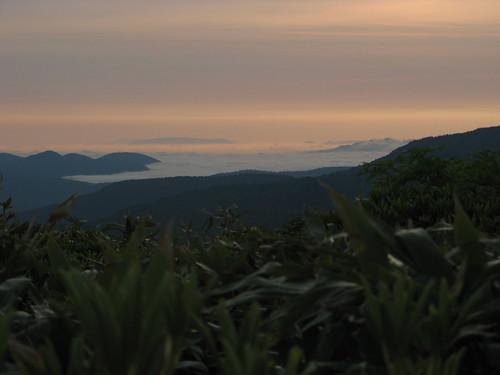 Sunrise near Yakeyama