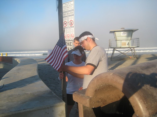 Hanging Our First Flag, Run for the Fallen