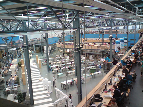 TU Delft Industrial Design hall