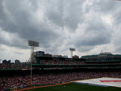 Dark clouds over Fenway