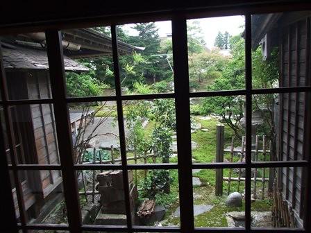 渡邉邸 中庭
