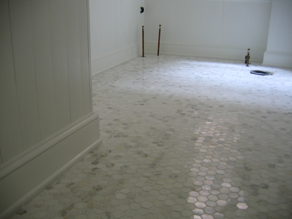 marble hex tile bathroom floor bathroom tiles and paint door sixteen 23743