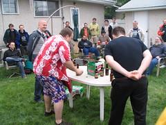 bob and art demonstrating the hurl