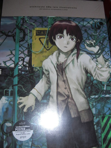 Lain Illustration Artbook