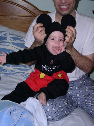 Mickey Mouse baby