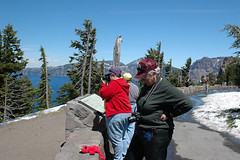 WindShifters at Rim Village, Crater Lake
