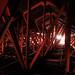 Dimmed lights at Letchworth