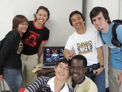 Kiso class members after our presentations (jrkester) Tags: japan hirosaki 2008
