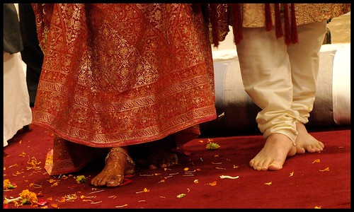 first steps as man & wife