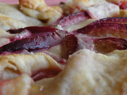 Summer Fruit Galette Closeup