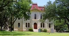 Sutton County Courthouse (Sonora, Texas) (courthouselover) Tags: texas courthouses uscctxsutton suttoncounty sonora feoscarruffini 100th countycourthouses texashillcountry westtexas tx northamerica unitedstates us