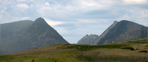 Arran hills Glen Sannox