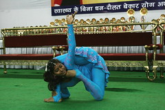 What is this pose called? (YY) Tags: people india yoga pose dance performance competition asana jamshedpur flexibility flexible