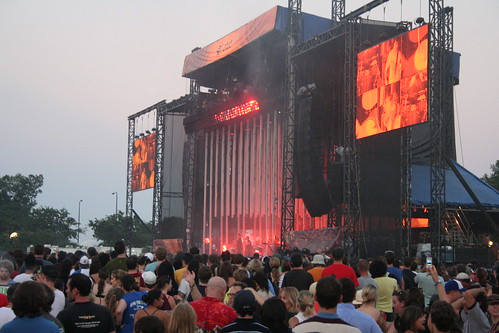 radiohead at lollapalooza