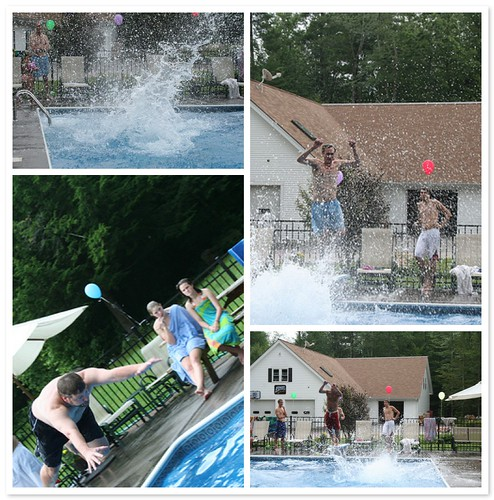Splash contest