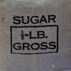 SUGAR LB. GROSS (Leo Reynolds) Tags: canon bag eos 350d iso100 sugar 1940s imperial f56 40s 135mm sugarbag 0ev hpexif 0017sec leol30random twtmesh260807 xsquarex xleol30x xratio1x1x xxx2008xxx