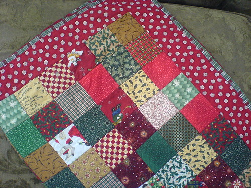 Christmas Quilt, Detail