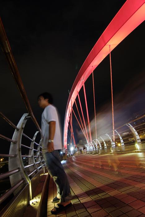 台北彩虹橋之大變身