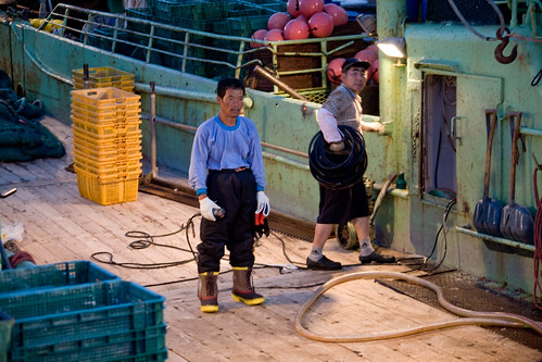 Korean fishermans