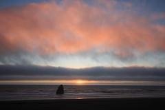 IMG_3425 (One-More-Shot) Tags: ocean pink sunset sky orange seascape oregon purple rocky goldbeach onlythebestare damniwishidtakenthat spectacularsunsetsandsunrises