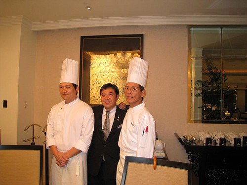 Chef Lee, Danny & Chef Fan (from left to right)