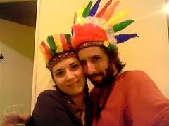 Indiecita & Cacique ([ - P a b l o - ]) Tags: india amor pablo cacique romi barba rominita